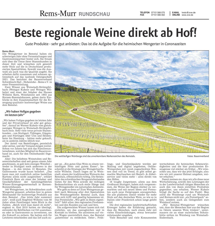<?=Beste regionale Weine direkt vom Hof!?>