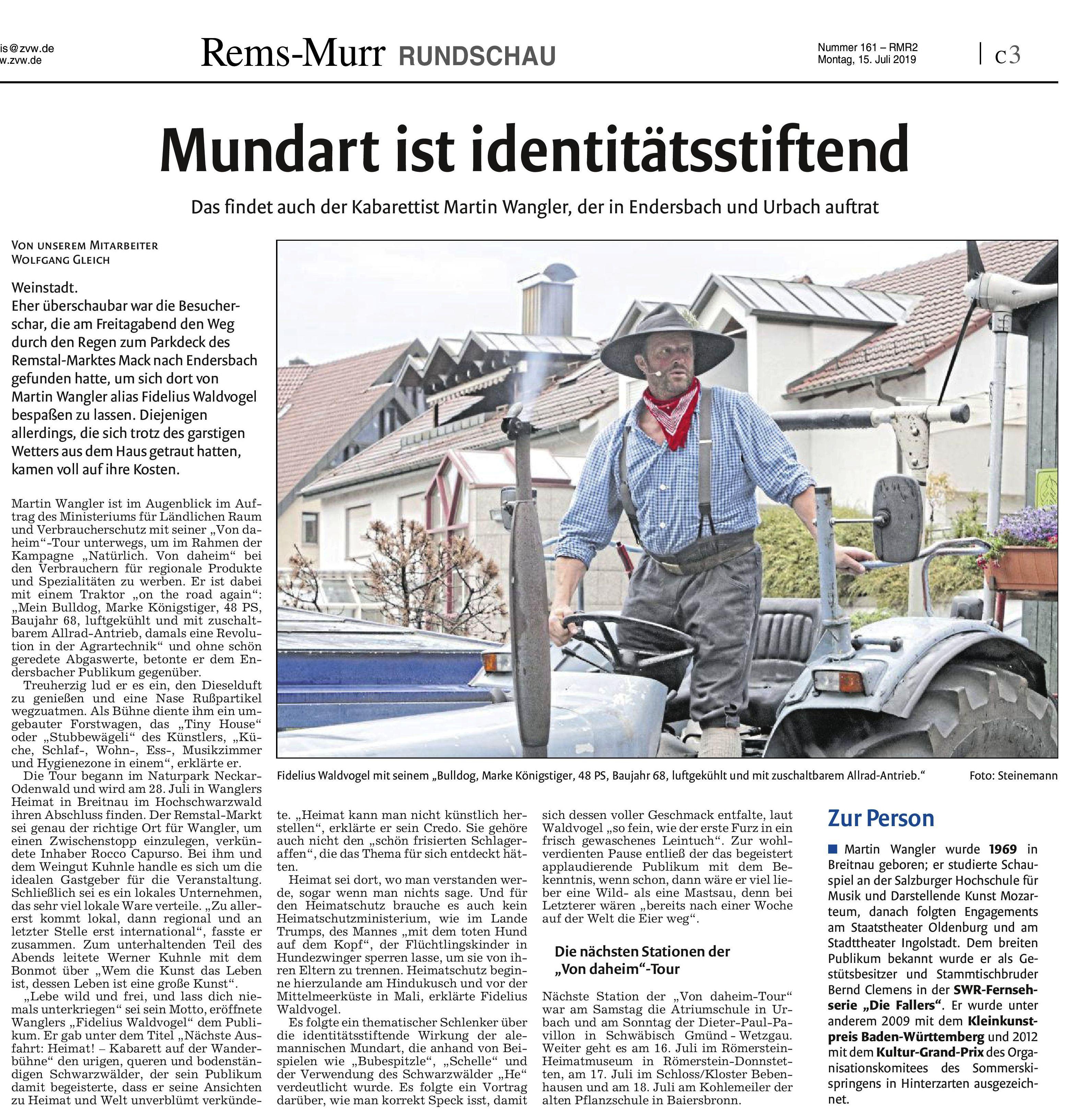 <?=Mundart ist identitätsstiftend?>