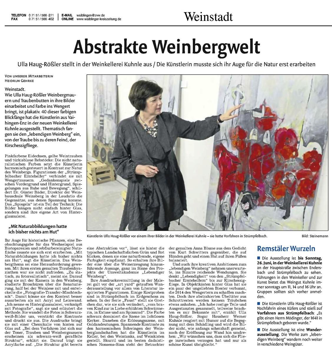 <?=Abstrakte Weinbergwelt?>